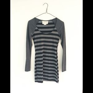 Coincidence & Chance Striped Mini Dress